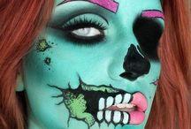 Halloween / Halloween make up and costume ideas