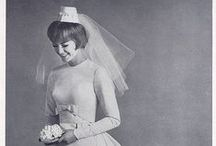 Retro Brides / #Vintage brides and bridal gown through the years.