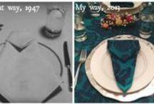Retro Entertaining / Entertaining advice from vintage #etiquette books and cookbooks.
