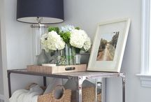 Console Table Decor / by Izzy+Bo