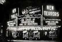 Haunted Screens / Classic (and not so classic) horror movies playing the local movie house.