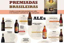 Infográficos / Formas didáticas e instigantes de decifrar o mundo da cerveja.