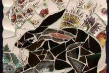 Animals - Mosaics / by Vicki Flanagan