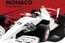 F1 Monaco GP Poster / F1