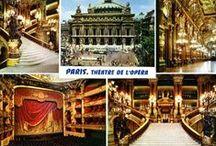 The Paris Opera (and its Phantom) / Palais Garnier, 8 Rue Scribe, 75009 Paris, France  Designed by Charles Garnier, the 1,979 seat opera house opened with a lavish gala performance on January 5, 1875.