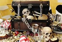 Pirate Party Ideas / Spunti ed idee per un perfetto pirate party!