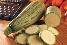 Zucchini Recipes [Vegan][Veggie] / Receitas Veganas/Vegetarianas com Abobrinha.