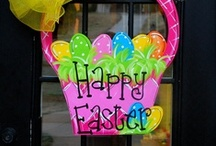 easter crafts / by Lia Mitraga