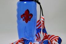 Patriotic / These party supplies are perfect for celebrating Memorial Day and Fourth of July!