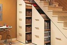 Under the Stairs  / Creative uses for that space 'under the stairs'