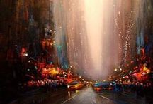 Effervescence / Paintings that reflect and inspire glimpses of joy and beauty in life
