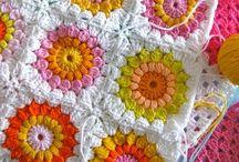 Crochet / Crochet Addict-Yarn Addict Granny Squares