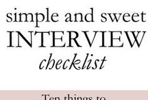 Interviewing / Check out interview tips from Benevolus
