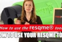 How to use resqme emergency tools / Demonstration videos to show how resqme, prepareme, alertme, defendme, protectme work.