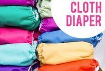 - cloth diaper -