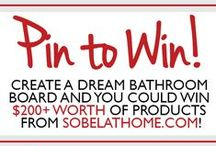Giveaways & Contests / Find out how you can periodically win Sobel goodies!