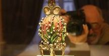 Coco de Fabergé / Belles pièces d' #œufs de #Fabergé. Vive l' #art sous toutes ses formes!