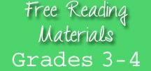 Grade 3-4 Free Reading Materials