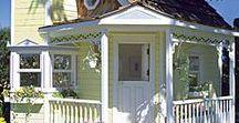 Tiny House / Ideen und Inspirationen rund um das Thema Mini Häuser / Tiny House: Mini Häuser Grundriss, Mini Häuser Deutschland, Mini Häuser auf Rädern, Mini Häuser Einrichtung, Single Homes, bezahlbare kleine Häuser, kleines Haus