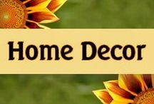 Home Decor / Beautiful and creative ideas for home decorating.  Furniture, wall decor, themed rooms, and lots of great ideas for kids!