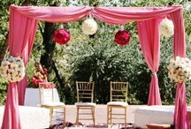 Wedding Inspiration / Weddings involving bamboo and thatch elements.
