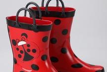 Sweet Rain Kicks / At Rain Baby Gear, we appreciate a distinct pair of bold, fun rain boots!