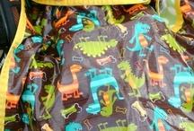 ROAR! Fabric of the Month: Dinosaurs 4/2013 / Rain Baby Gear Fabric of the Month April 2013