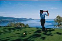 Golf / Golfing / La région de Charlevoix réserve aux adeptes du golf d'agréables surprises. / When it comes to relaxing, forgetting your everyday cares and getting some of that fresh Charlevoix air, a round of golf is just what the doctor ordered. www.tourisme-charlevoix.com