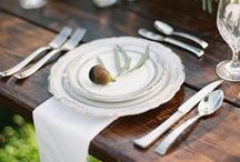 table settings / by petiole s
