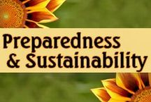 Preparedness & Sustainability / Great ideas for emergency preparedness as well as an a more sustaining and self sufficient lifestyle.