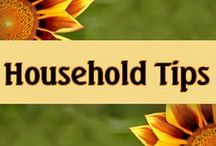 Household Tips / Lots of useful household tips!  Cleaning tips, money saving tips, organizing tips, and great DIY tips!