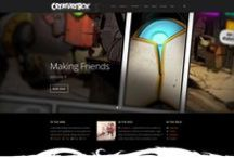 Web Inspiration / A selection of great looking websites for inspiration.