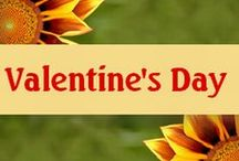 Valentine's Day / Valentine everything from romantic valentine ideas to great valentine projects for kids.