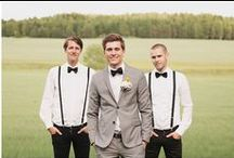 Dont forget the groom (and his groomsmen)! / Great mens vintage clothing and ideas for weddings