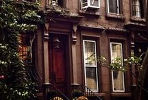 Apartments and Brownstones ♥