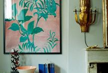huis --- home / Interiors, mostly  Sophisticated and artsy Colorful and light Natural and unfussy / by Eva Lindeman