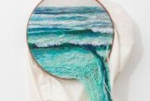embroidery & art
