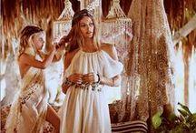 1970's bohemian wedding style