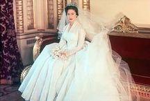 Vintage royal wedding style