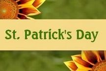 St. Patrick's Day / Time for green and leprechauns to be seen!