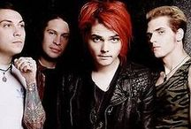My Chemical Romance / Sometimes I just get so emo I fall apart.