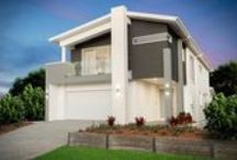 Avalon - Home Design / This is one of our latest Narrow Lot designs and is currently on Display north of Brisbane at Mango Hill (http://ownithomes.com.au/displayhomes/mango-hill/).  To see all details of this home design - http://ownithomes.com.au/doublestorey/avalon/