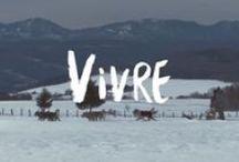 Vivre - Hiver / Retrouvez les activités qui vous ont inspirés dans la vidéo hivernale Vivre de Tourisme Charlevoix.