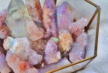 Chrystals , Stones, Tiles.