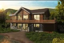 Country Houses / Chalets et maisons de campagne