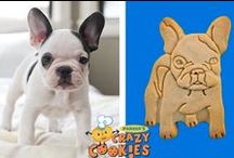 Pet Owner Ideas / A collection of pets we have made into custom cookies.