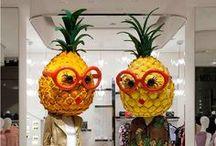 Fashion : fruit and flower / idées sympas