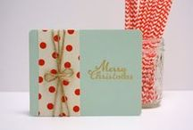 Holiday Stationery / 25% of all holiday stationary purchases will be donated to Make a Wish Foundation.  Visit www.etsy.com/shop/petalandpaperie to shop now. Happy Holidays!