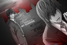 Death Note Anime Manga / Anime and Manga backgrounds, wallpapers, png, gif, icons, vectorials