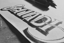 Lettering session